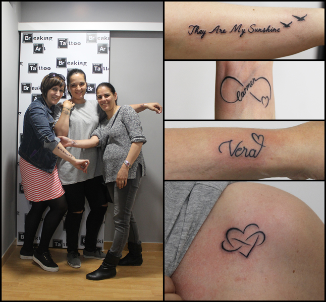 Trozo de tatuajes una mamada de su del novio