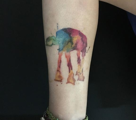 Tatuajes acuarela en Getafe